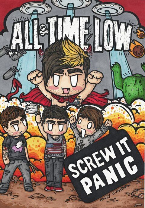 All Time Low my favourite band of all time hehe see what I did there?