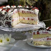 Nicht nur für besondere Anlässe, sondern auch für die sonntägliche Kaffeetafel backt Walburga Jansen die Erdbeer-Schoko-Torte. Während der Saison...