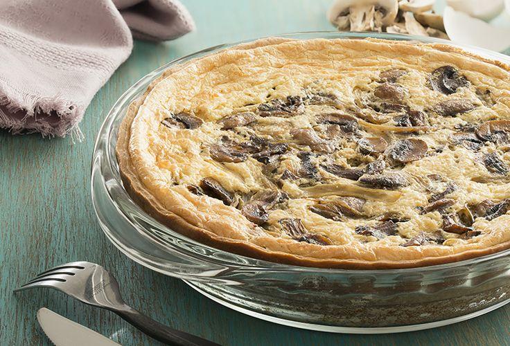 Quiche de champiñones - Recetas de tartas saladas - Comida - Recetas - Philadelphia
