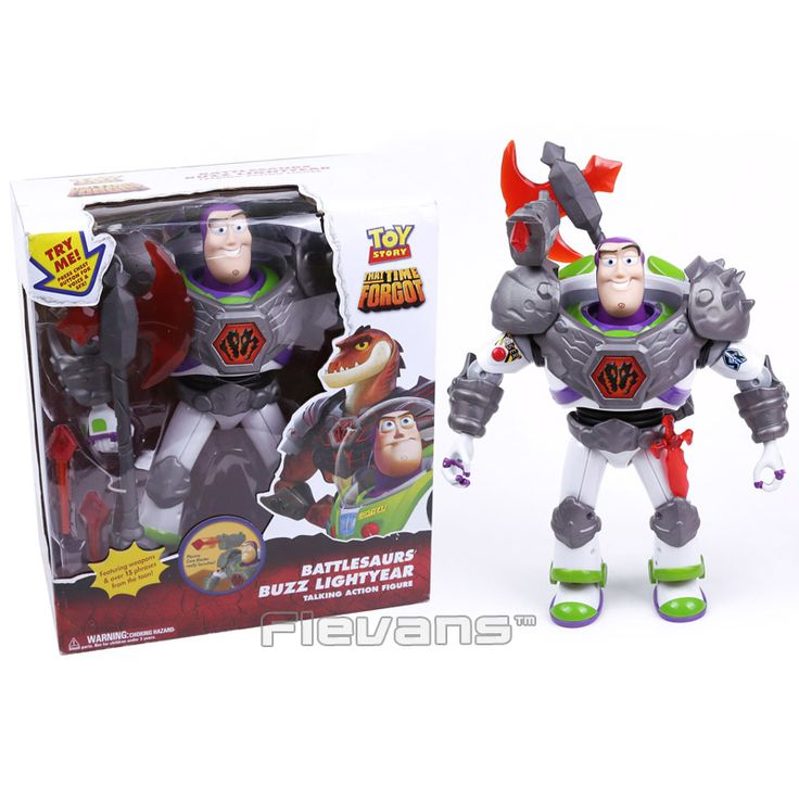 ==> [Free Shipping] Buy Best Toy Story Battlesaurs Buzz Lightyear Talking Action Figure Collectible Model Toy 32cm Online with LOWEST Price | 32776497063