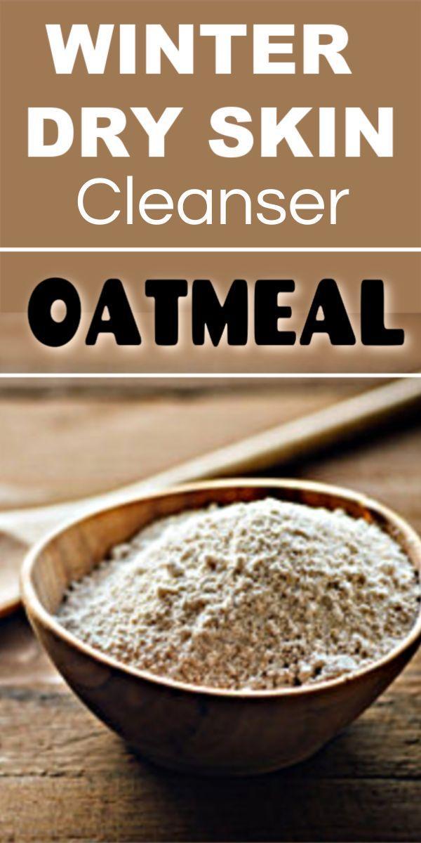 Oatmeal Milk Cleanser for Winter Dry Skin