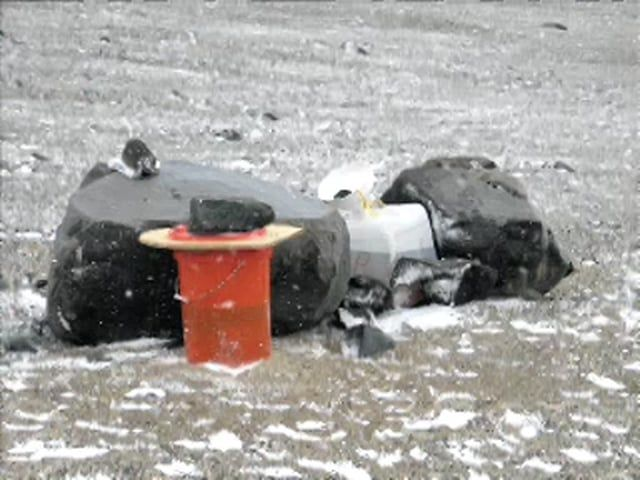 The Antarctic field toilet - VIDEO. To keep Antarctica as pristine as possible all impacts from human presence have to be kept to an absolute minimum, this includes human wastes. The field camp has an out-doors toilet that consists of a 'poo bucket' with a polystyrene lid and a 'pee barrel' which has a funnel on top. When the scientists leave the field they take all their wastes with them so that they do not contaminate the environment. Points of interest for teachers: Students c
