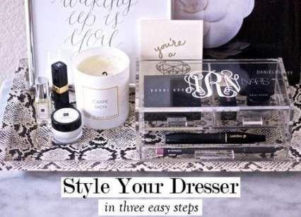 29 Ideas For Makeup Organization On Dresser Bedrooms Vanity Tray