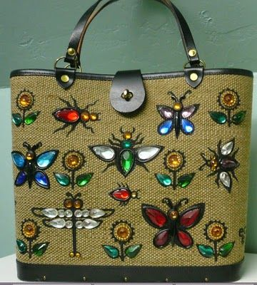 I Love Enid Collins Purses Miss Enid Roessler grew up in San Antonio, Texas and went to college at Womens University where she majored in fashuib design.
