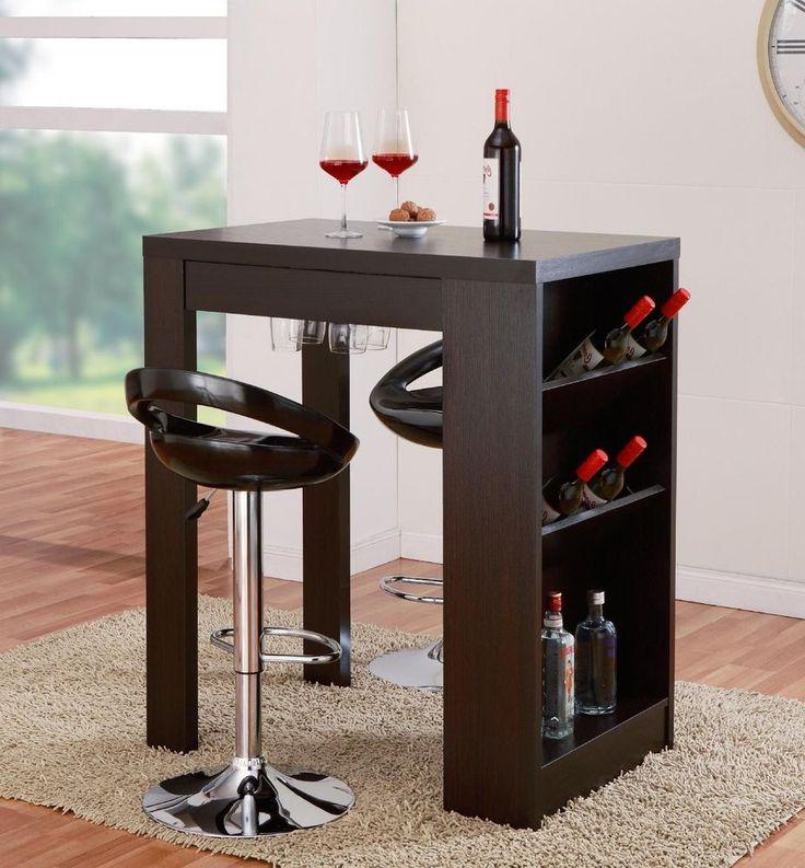 Home Bar Table Furniture For Sale Pub Cabinet Liquor Wine Mini Bar Contemporary #HomeBarTable