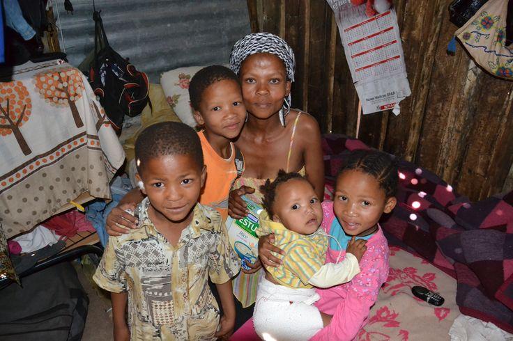 Katrina with her family/ Katrina se svou rodinou