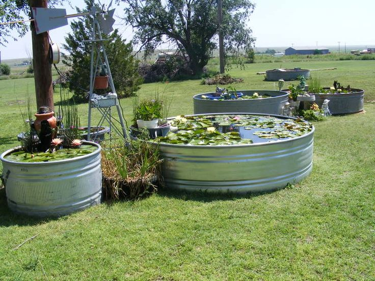 Top Galvanized Water Trough Ponds Wallpapers