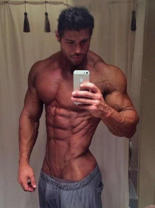 abs and muscle guy sex