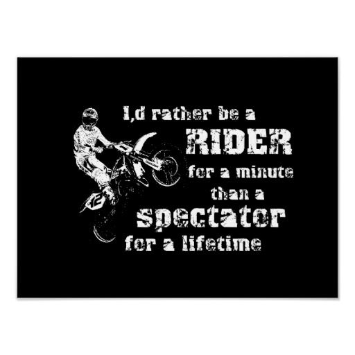 You got 33 years of riding. Xo everything motorcycle and dirt bike related makes me think of you.