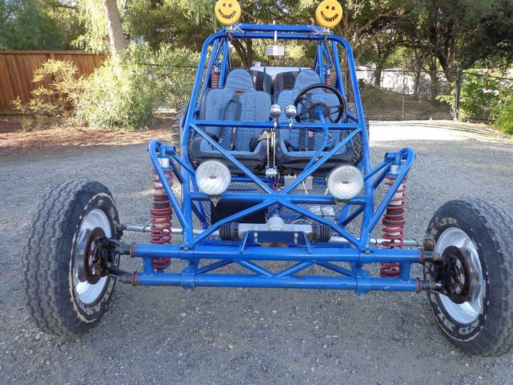 Used 1999 Custom OTHER ATVs For Sale in California. 4-seat sand rail in GREAT condition! Has a 1950 CC turbo charged VW motor, very dependable motor. Has a heavy duty built transmission, I.R.S., 4 wheel disc brakes, turning brakes, fox shocks, ring and pinion steering, powder coat paint, 4 point harness seat belts, up to date green sticker. Has a mid travel suspension built by Prowlers. Includes brand new paddle tires, buggy has never been in the sand, only desert. Very fast and…