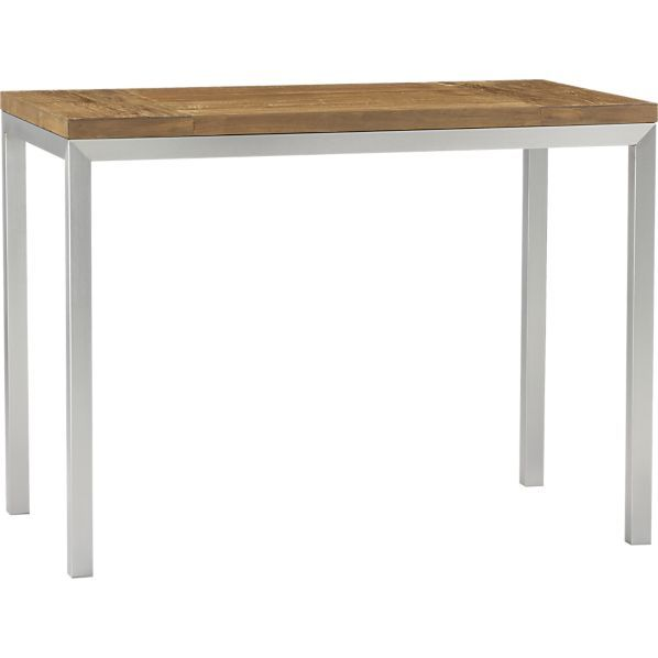 Vedel Industrial Loft Zinc Wood Rectangle Coffee Table: Best 25+ High Dining Table Ideas On Pinterest
