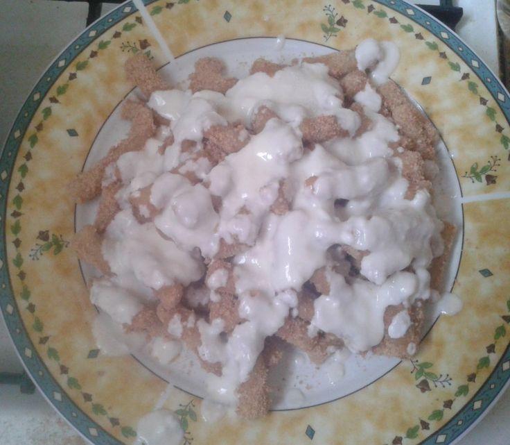 Ultra könnyen és gyorsan elkészíthető tésztaétel mézes natúr joghurttal. http://receptek365.info/teszta-etelek/nudli/