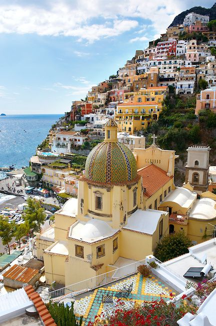 Positano, Amalfi Coast, Italy. Such a beautiful place, truly as gorgeous as the pictures - our view from our Mediterrean cruise compliments of Princess House - great memories!