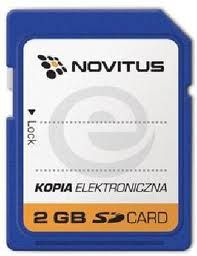 karta SD Novitus - kopia paragonu