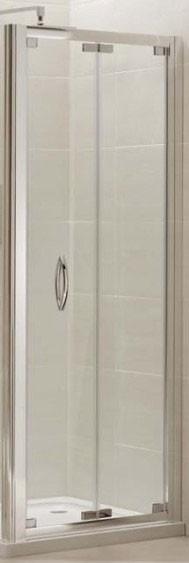 46 best bi fold shower door images on pinterest shower doors small bathrooms and tiny bathrooms for Folding shower for small bathrooms