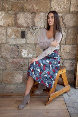 that bird label Jay Skirt - Womens Knee Length Skirts - Birdsnest Buy Online