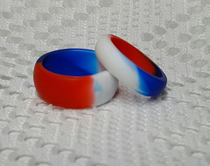 26 best Silicone Wedding Sport Band Ring Mixed Colors images on