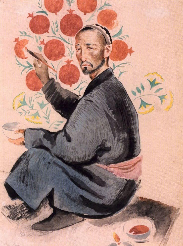 """Russian artists in Uzbekistan - """"Turkestan Avant-garde"""" – 1920s and 1930s."""