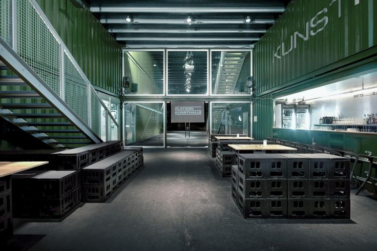 Shipping Container Building. Platoon Kunsthalle Berlin / Platoon Cultural Development
