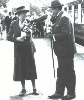 Miss Marple and Poirot (I wish Dame Agatha had written a book featuring both of them)
