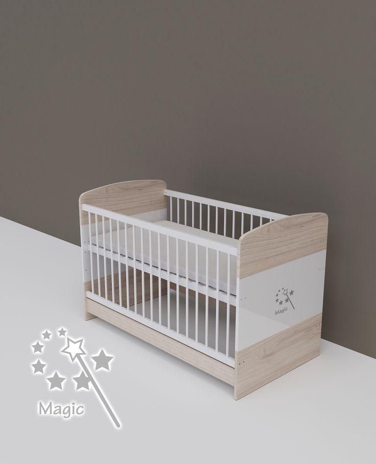 Magic - átalakítható gyerekágy 70x140 cm-es - TODI Gyerekbútor #babaágy #bababútor