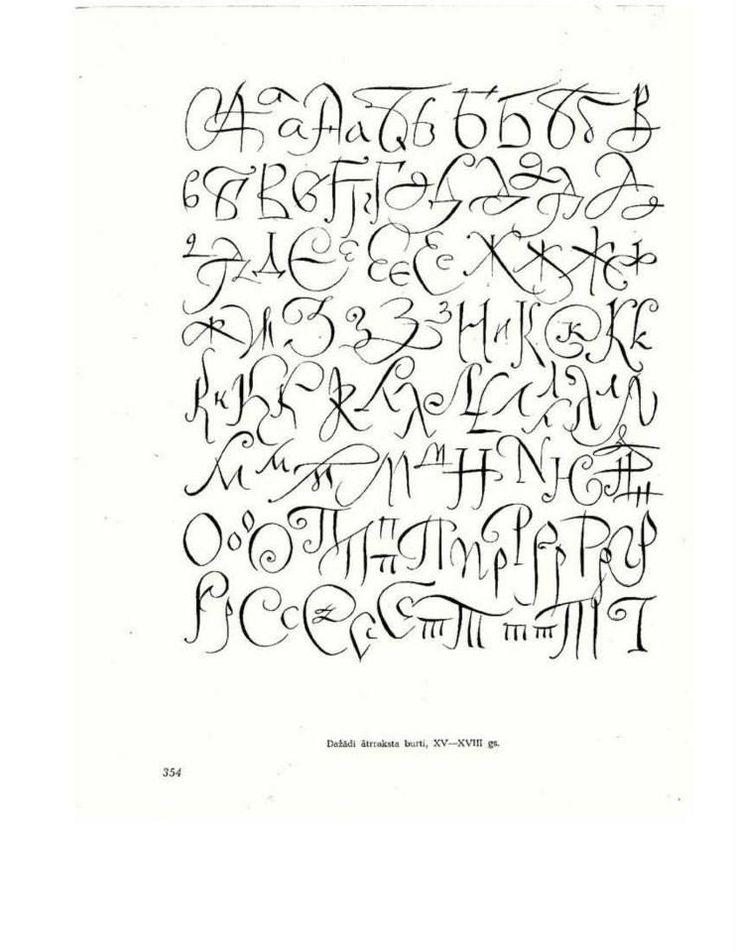 300 шрифтов В. Тоотс