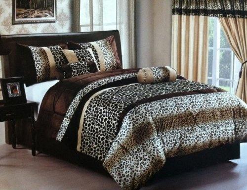 Leopard Print King Size Bedding Set