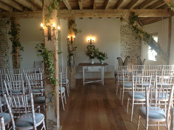 How the Flint Barn looks upon entry..  Simply stunning.