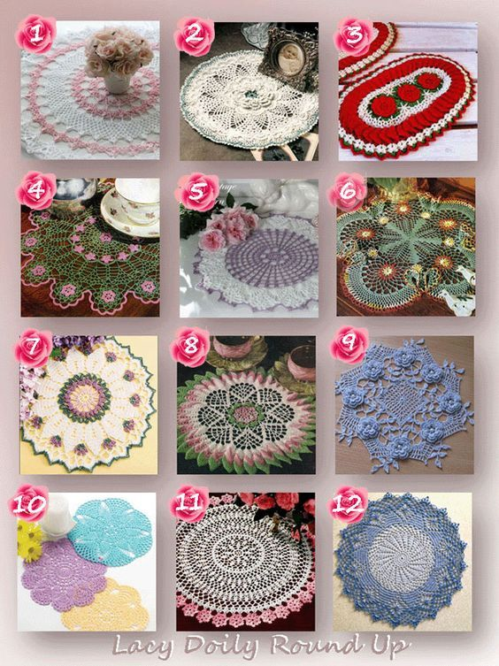 Lacy Doily Round Up: