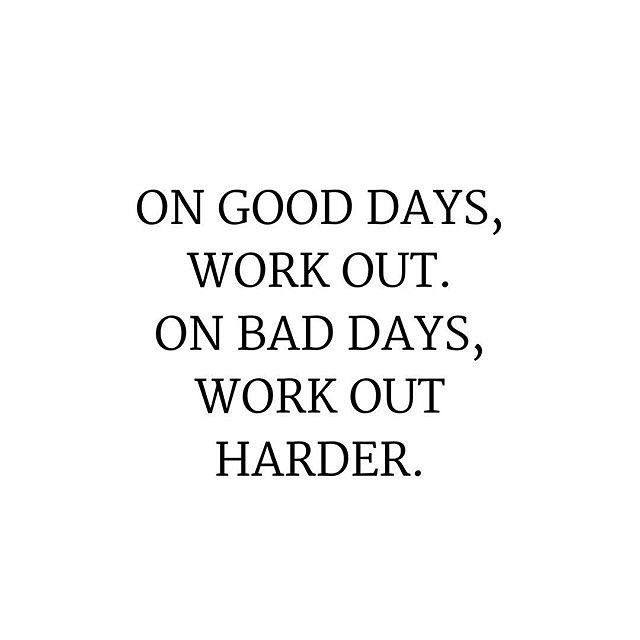 Use your bad day as motivation!! No one has EVER regretted doing a workout - ever!! www.kaylaitsines.com/app