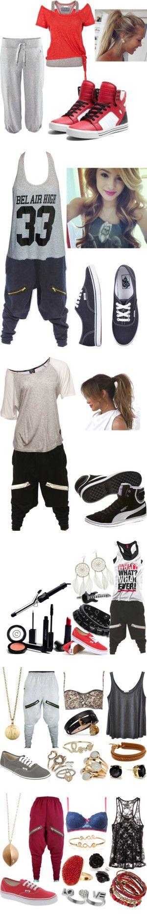 """Dance outfits #2"" by heyitzbriannaa ❤ liked on Polyvore-yep yep yep! Love it ☺️"