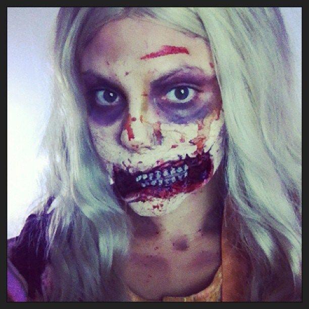 DIY The Walking Dead Zombie Halloween Costume