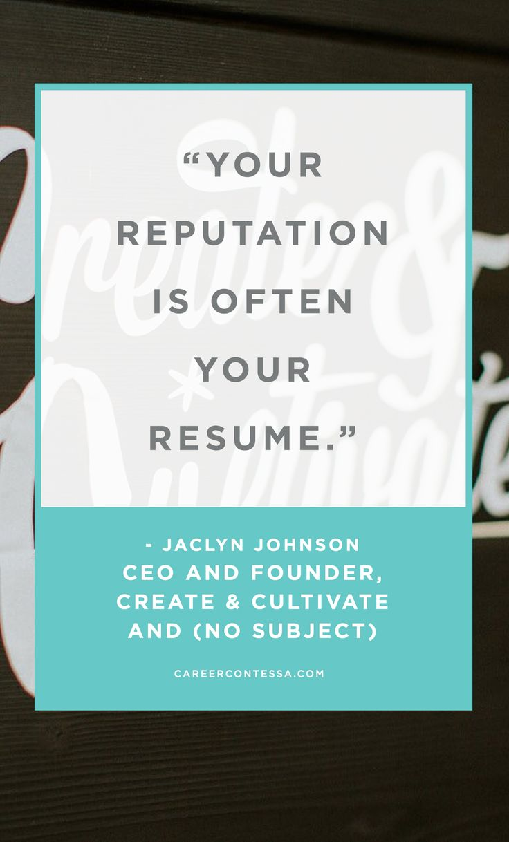 208 best RESUMES images on Pinterest