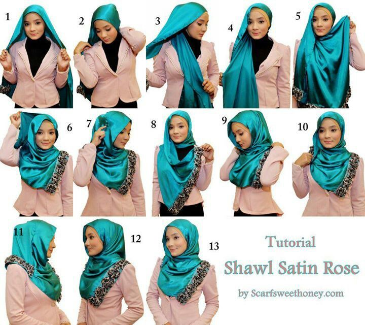 17 Best images about hijab tutorial step by step on