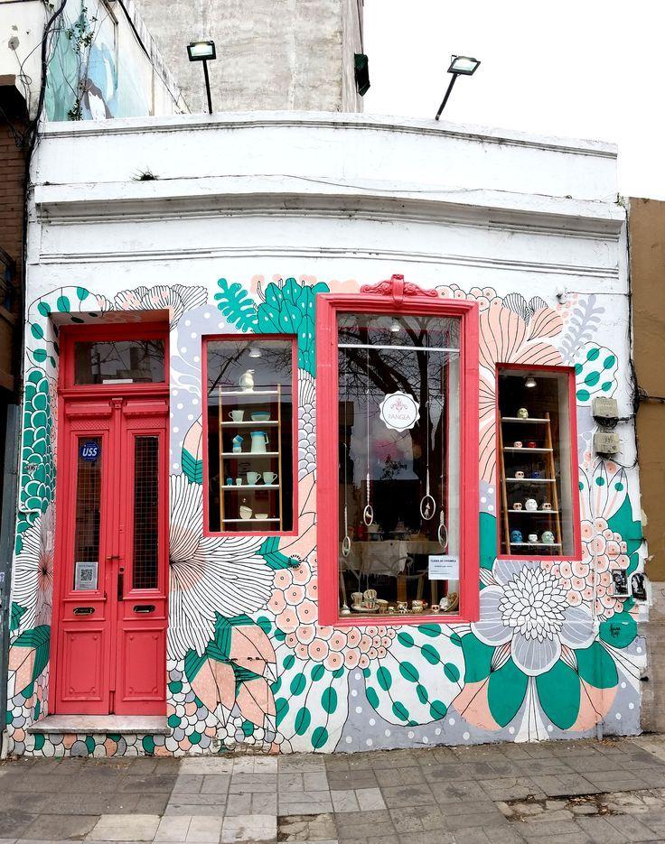 Buenos Aires, Argentinien – Street Art & Graffiti – Dies ist von der coolen Art di