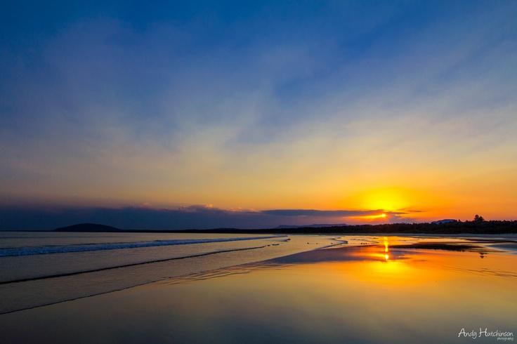 Sunset in South Coast NSW, Australia.
