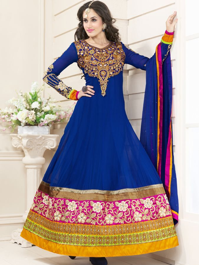 The craze for shopping of salwar kameez in India is high. So people now a days look for online Indian lehanga. A casual salwar kameez to party wear salwar kameez is available at Kalazone.Huge range of sarees,lehangas and salwar kameez at kalazone silkmill.