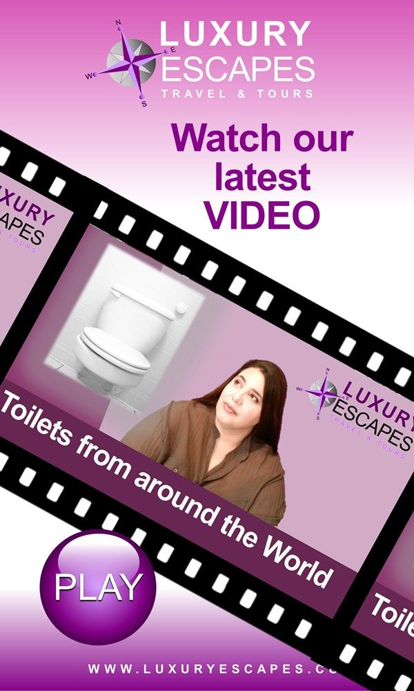 """Have you see our video on """"Toilets from around the World""""? Watch it now on https://youtu.be/J7FFw7kHziM Thank you and enjoy!"""