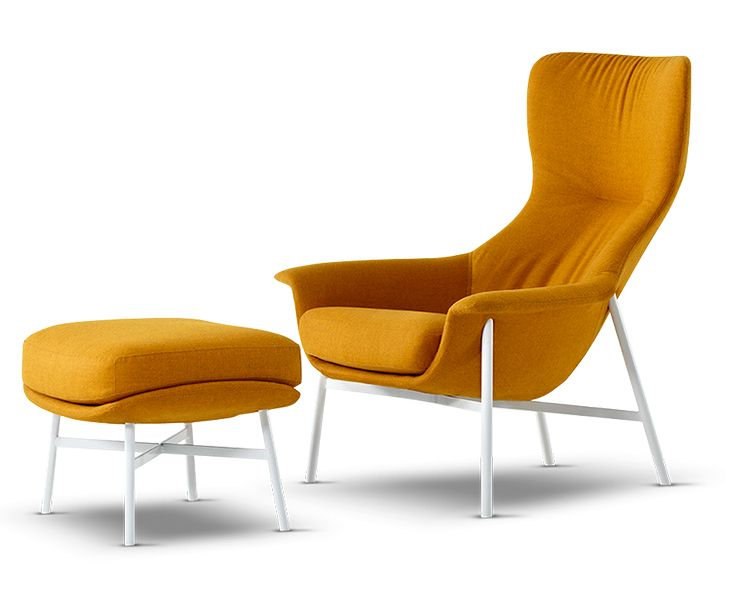 The Seymour designer chair makes an individual statement in any space. The result of an exciting collaboration between renowned Australian designer, Charles Wilson, and King Living, the Seymour Armchair is generous and inviting. Choose from the low back club chair, mid chair or high back design, paired with an optional footstool. Select a timber swivel base or a fixed powder coated steel base and complement the design silhouette further by covering it in your choice of premium fabrics or…