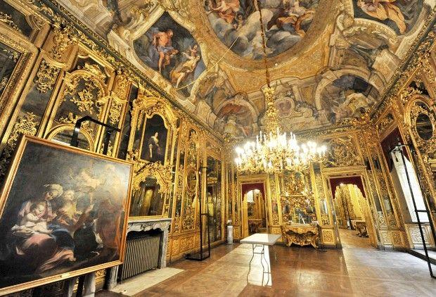 Palazzo Carignano interior , Torino, Italy