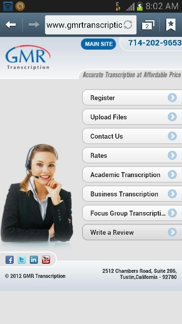 Get the advantages of academic transcription services within your pockets. http://www.gmrtranscription.com/academictranscription.aspx