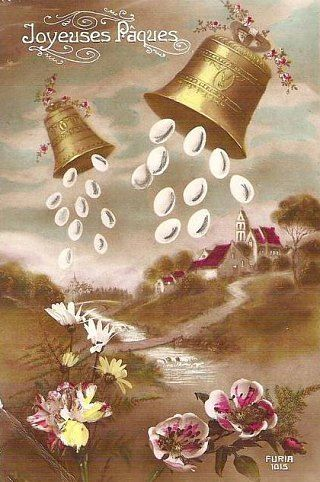 1000 images about fsl calendar spring easter on pinterest the church edible bird 39 s nest and - Cloches de paques ...