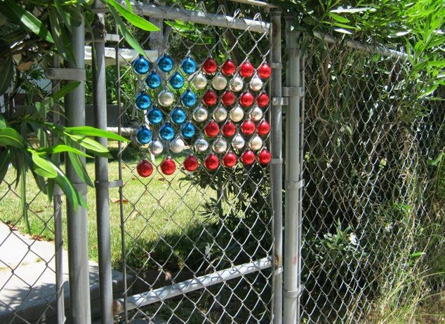 138 best images about backyard ideas on pinterest for Fence ornaments ideas