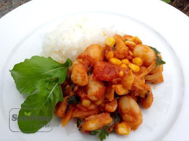 Chilli fazole s jasmínovou rýží