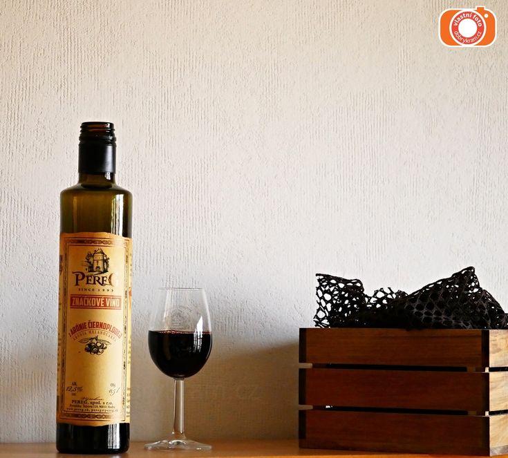 Víno z arónie. Velmi zemitá chuť vína pro Vaši zdravou štítnou žlázu.