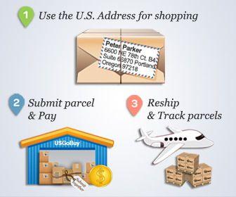 Provato voi e noi ... per: UsGobuy = servizio di posta Inoltro flessibile