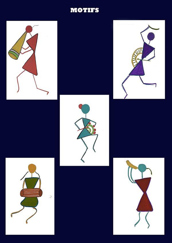 warli painting pinterest - Google Search
