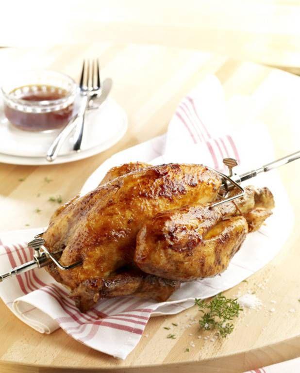 Poulet rôti au barbecue - Recettes Elle à Table