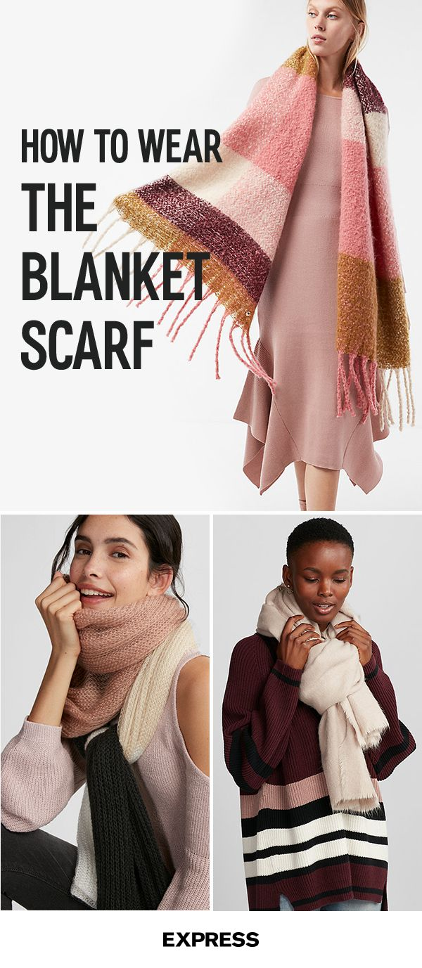 When it comes to scarves this season, going big is a definite style do. Stay cozy and chic when the weather gets chilly with the ultimate fall accessory. Blanket soft fabric envelops you in cuddly comfort, while an eye catching print adds personality to any cold day outfit. Shop today at Express.com.