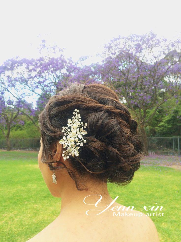 bridehairstyle, weddinghairstyle, softbun, gorgeous updo